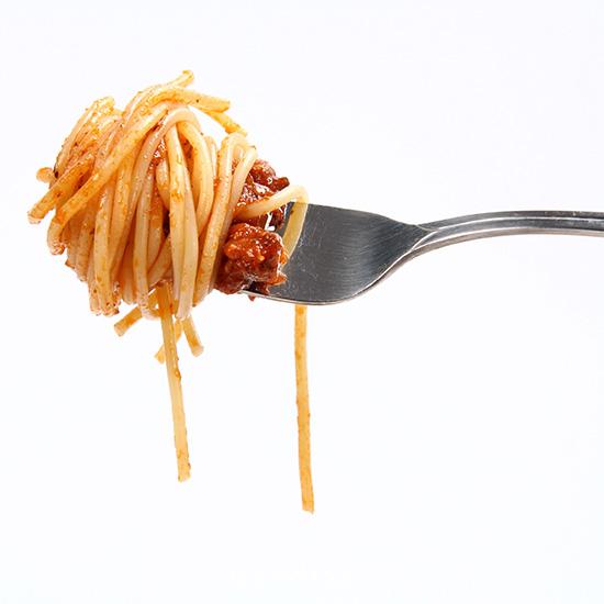 receta de pasta con verduras y carne