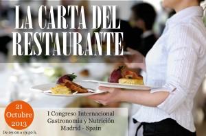 Cómo se debe estructurar la carta del restaurante desde el punto de vista nutricional