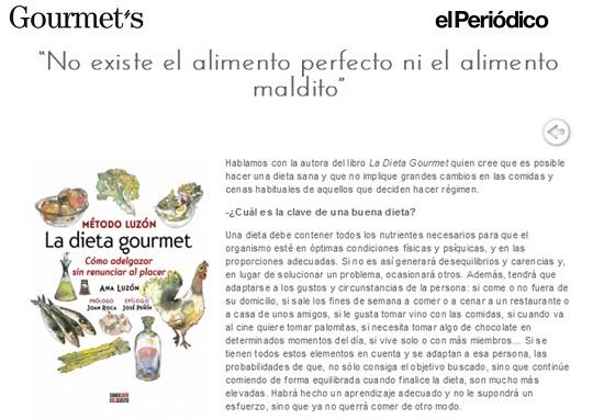 periódico gourmet